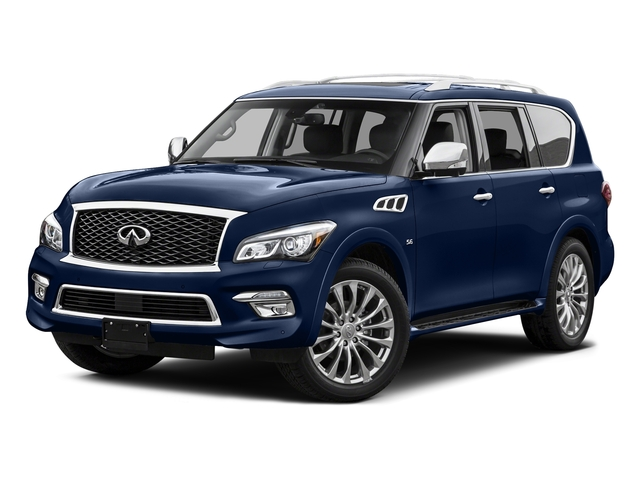 Hermosa Blue 2015 INFINITI QX80 Pictures QX80 Utility 4D 2WD V8 photos front view