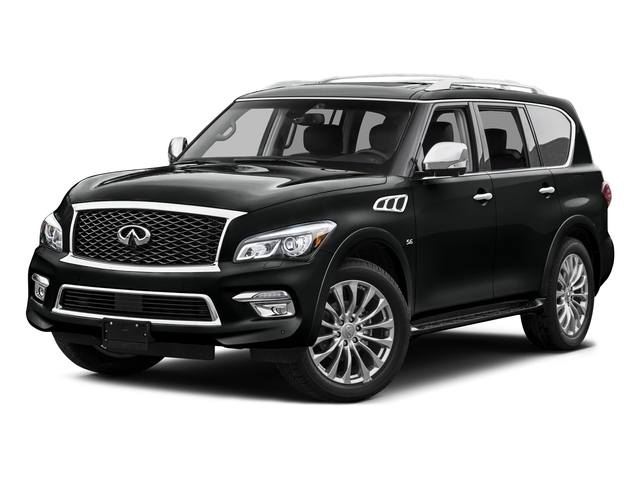 Imperial Black 2015 INFINITI QX80 Pictures QX80 Utility 4D AWD V8 photos front view