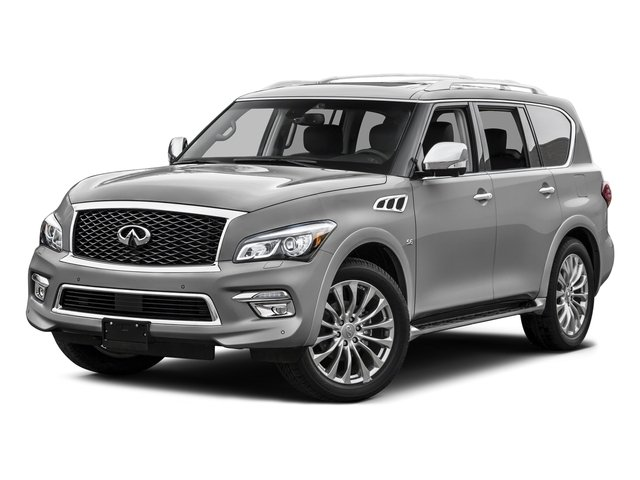 Liquid Platinum 2015 INFINITI QX80 Pictures QX80 Utility 4D 2WD V8 photos front view
