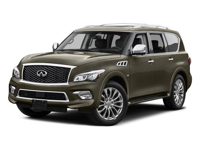 Smoky Quartz 2015 INFINITI QX80 Pictures QX80 Utility 4D 2WD V8 photos front view