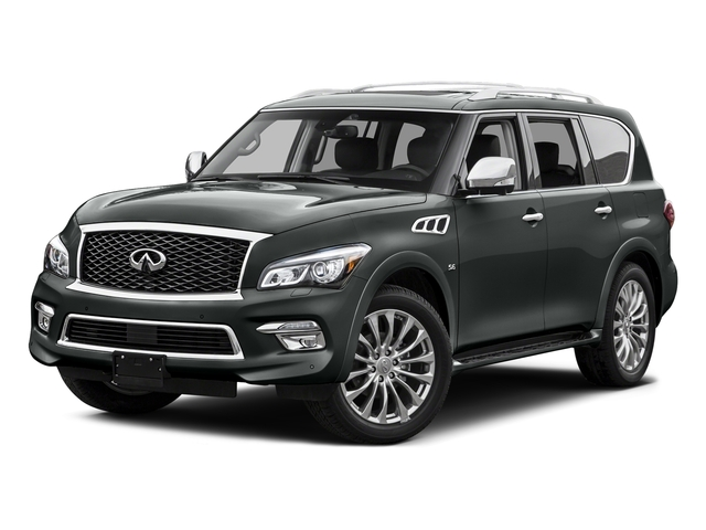 Graphite Shadow 2015 INFINITI QX80 Pictures QX80 Utility 4D 2WD V8 photos front view
