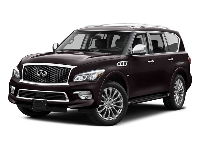 Dark Currant 2015 INFINITI QX80 Pictures QX80 Utility 4D 2WD V8 photos front view