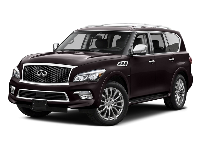 Dark Currant 2015 INFINITI QX80 Pictures QX80 Utility 4D AWD V8 photos front view
