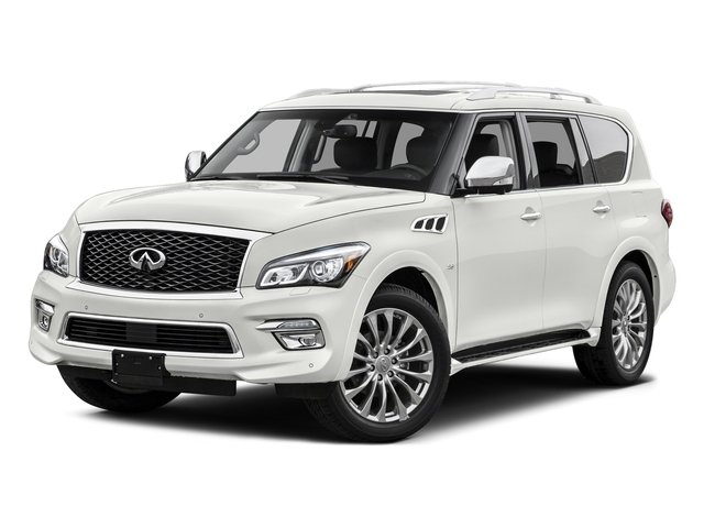 Majestic White 2015 INFINITI QX80 Pictures QX80 Utility 4D AWD V8 photos front view