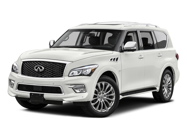 Majestic White 2015 INFINITI QX80 Pictures QX80 Utility 4D 2WD V8 photos front view