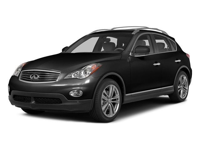 Black Obsidian 2015 INFINITI QX50 Pictures QX50 Utility 4D AWD V6 photos front view