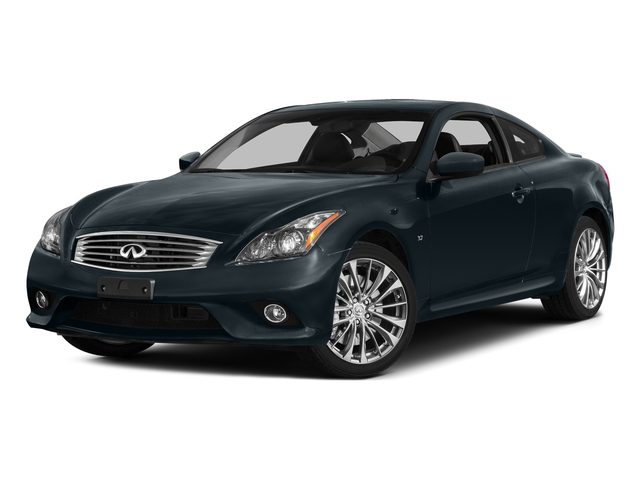 Blue Slate 2015 INFINITI Q60 Coupe Pictures Q60 Coupe 2D V6 photos front view