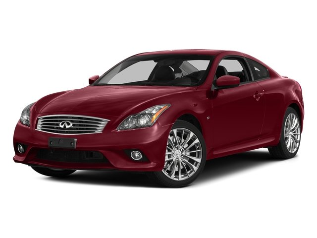 Venetian Ruby 2015 INFINITI Q60 Coupe Pictures Q60 Coupe 2D V6 photos front view