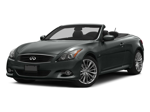Graphite Shadow 2015 INFINITI Q60 Convertible Pictures Q60 Convertible Convertible 2D Sport V6 photos front view