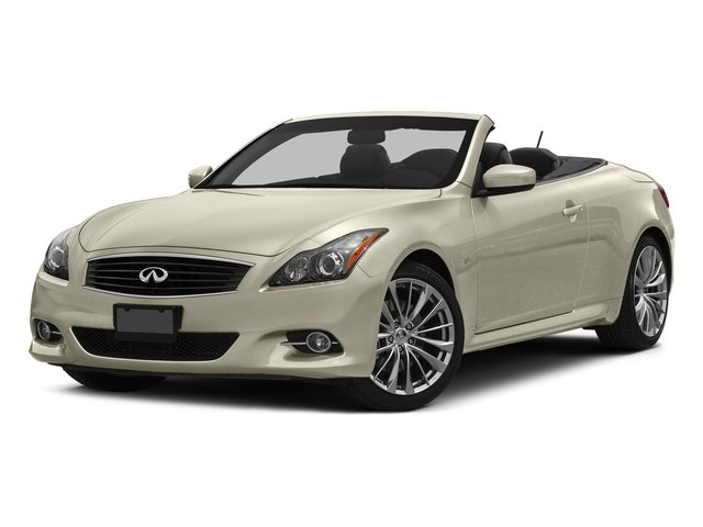 Majestic White 2015 INFINITI Q60 Convertible Pictures Q60 Convertible Convertible 2D Sport V6 photos front view