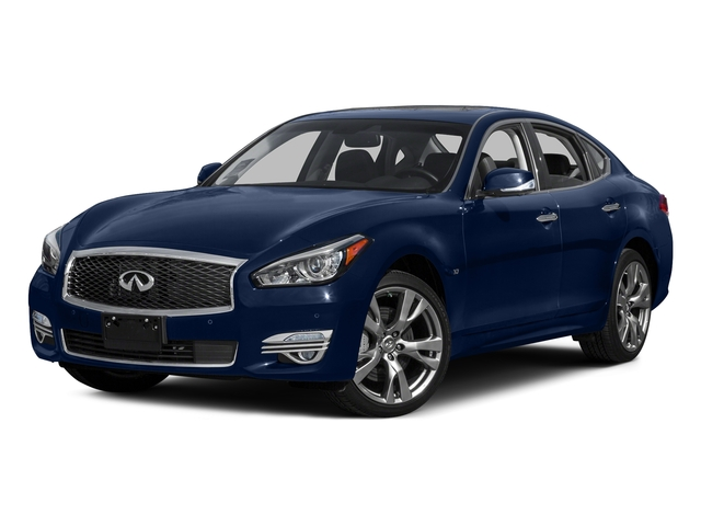 Hermosa Blue 2015 INFINITI Q70 Pictures Q70 Sedan 4D AWD V6 photos front view