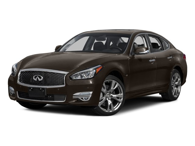 Chestnut Bronze 2015 INFINITI Q70 Pictures Q70 Sedan 4D AWD V8 photos front view