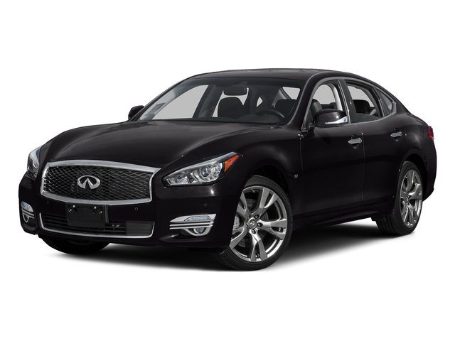 Malbec Black 2015 INFINITI Q70 Pictures Q70 Sedan 4D AWD V8 photos front view