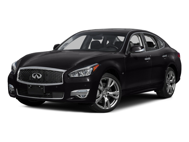 Malbec Black 2015 INFINITI Q70 Pictures Q70 Sedan 4D AWD V6 photos front view