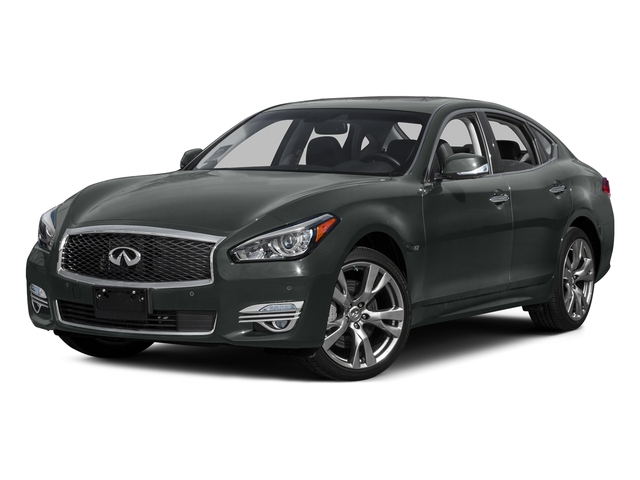 Graphite Shadow 2015 INFINITI Q70 Pictures Q70 Sedan 4D AWD V6 photos front view