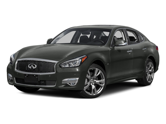 Storm Front Gray 2015 INFINITI Q70 Pictures Q70 Sedan 4D AWD V6 photos front view