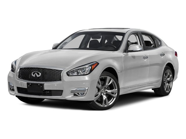 Moonlight White 2015 INFINITI Q70 Pictures Q70 Sedan 4D AWD V6 photos front view