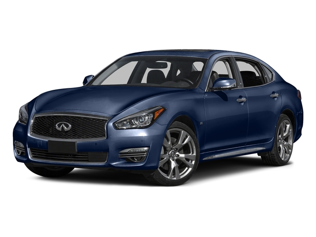 Hermosa Blue 2015 INFINITI Q70L Pictures Q70L Sedan 4D LWB AWD V6 photos front view