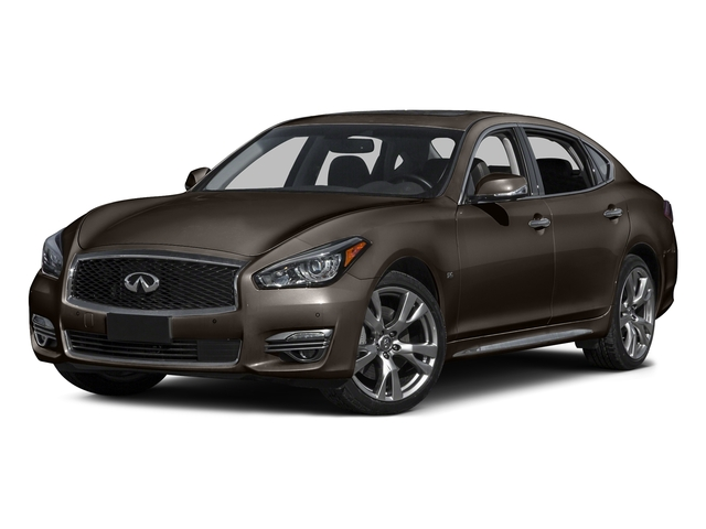 Chestnut Bronze 2015 INFINITI Q70L Pictures Q70L Sedan 4D LWB AWD V6 photos front view
