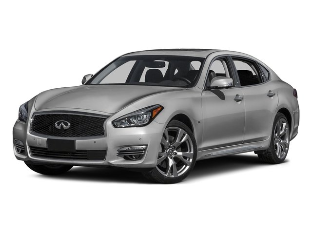 Liquid Platinum 2015 INFINITI Q70L Pictures Q70L Sedan 4D LWB AWD V6 photos front view