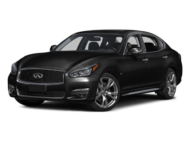 Black Obsidian 2015 INFINITI Q70L Pictures Q70L Sedan 4D LWB AWD V6 photos front view