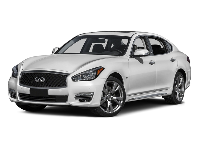 Moonlight White 2015 INFINITI Q70L Pictures Q70L Sedan 4D LWB AWD V6 photos front view