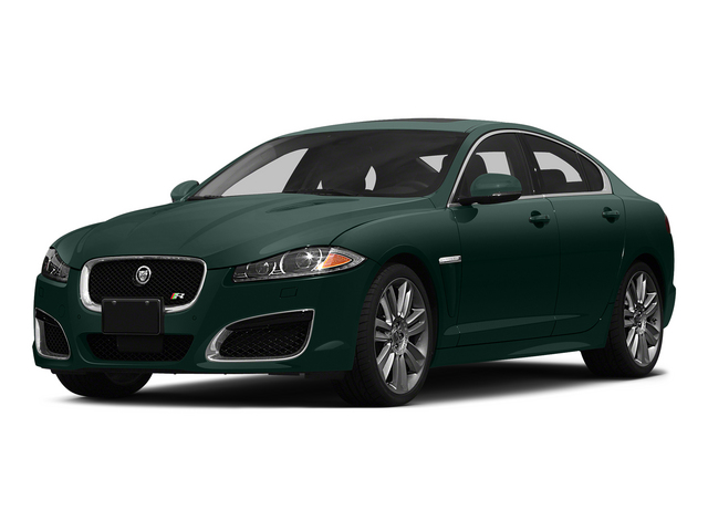 British Racing Green 2015 Jaguar XF Pictures XF Sedan 4D XFR V8 Supercharged Speed photos front view