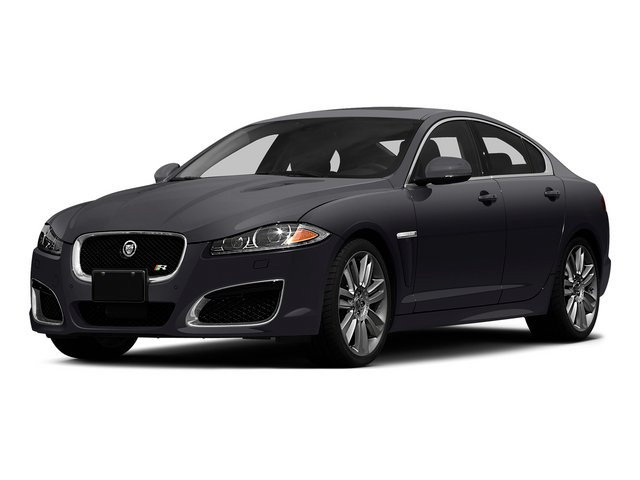 Stratus Gray Metallic 2015 Jaguar XF Pictures XF Sedan 4D XFR V8 Supercharged Speed photos front view