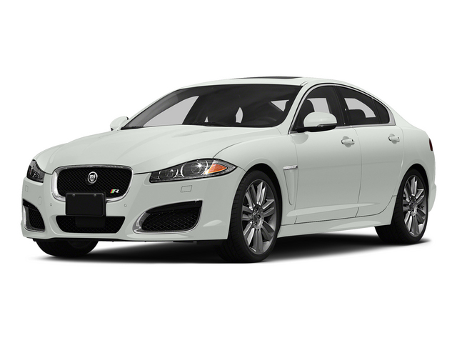 Polaris White 2015 Jaguar XF Pictures XF Sedan 4D XFR V8 Supercharged Speed photos front view