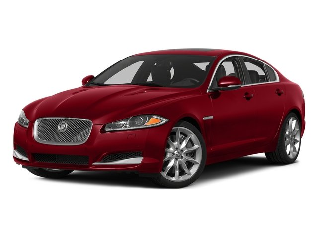 Italian Racing Red 2015 Jaguar XF Pictures XF Sedan 4D Portfolio V6 Supercharged photos front view