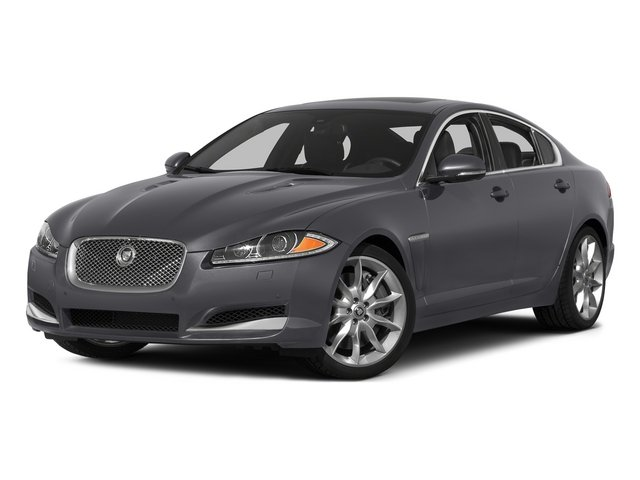 Lunar Gray Metallic 2015 Jaguar XF Pictures XF Sedan 4D Portfolio V6 Supercharged photos front view