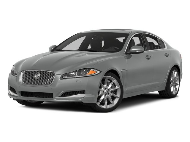 Rhodium Silver Metallic 2015 Jaguar XF Pictures XF Sedan 4D Portfolio V6 Supercharged photos front view