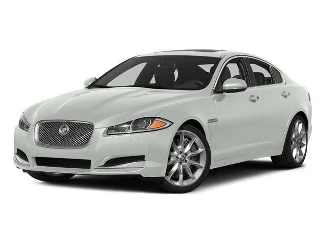 Polaris White 2015 Jaguar XF Pictures XF Sedan 4D Portfolio V6 Supercharged photos front view