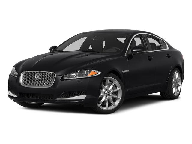 Ebony 2015 Jaguar XF Pictures XF Sedan 4D Portfolio V6 Supercharged photos front view