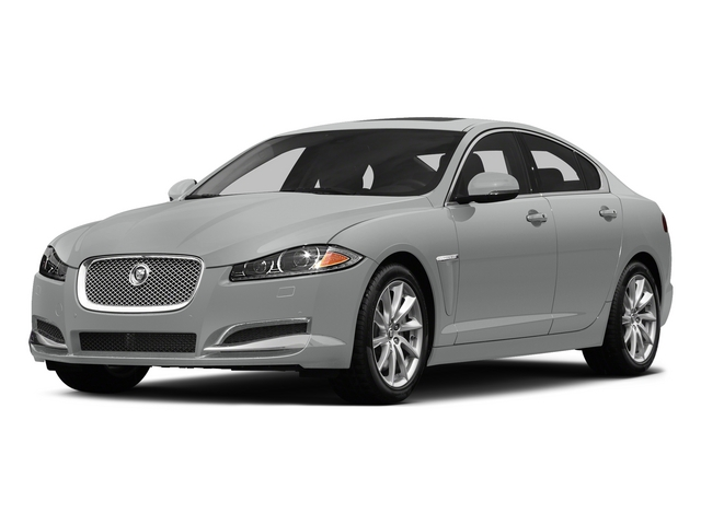 Rhodium Silver Metallic 2015 Jaguar XF Pictures XF Sedan 4D V8 Supercharged photos front view