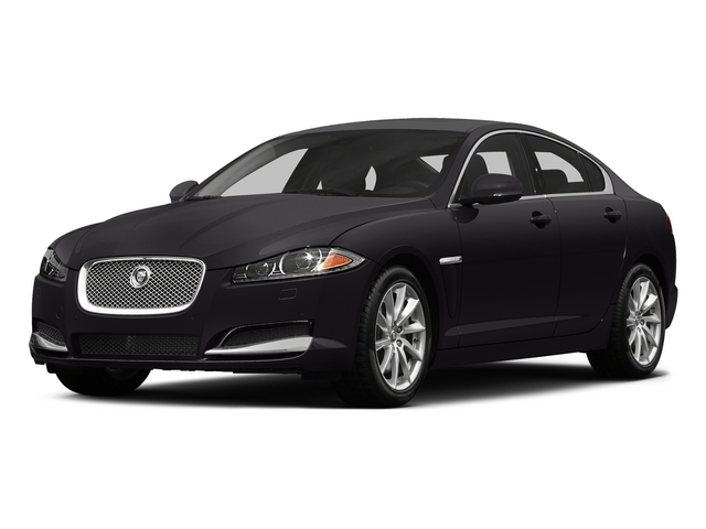 Ultimate Black Metallic 2015 Jaguar XF Pictures XF Sedan 4D V8 Supercharged photos front view