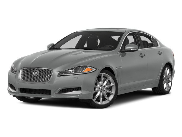 Rhodium Silver Metallic 2015 Jaguar XF Pictures XF Sedan 4D Sport V6 Supercharged photos front view