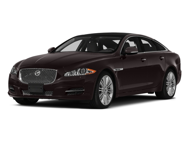 Caviar Metallic 2015 Jaguar XJ Pictures XJ Sedan 4D V6 photos front view