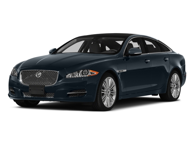 Dark Sapphire Metallic 2015 Jaguar XJ Pictures XJ Sedan 4D V6 photos front view