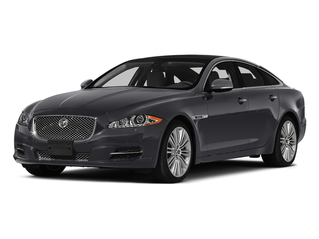 Lunar Gray Metallic 2015 Jaguar XJ Pictures XJ Sedan 4D V6 photos front view