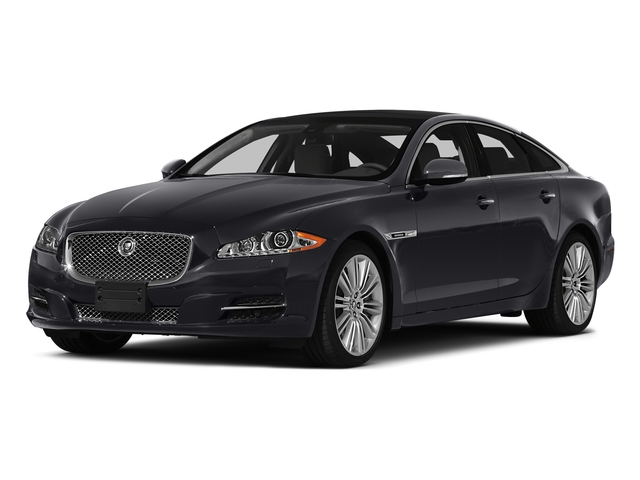 Stratus Gray Metallic 2015 Jaguar XJ Pictures XJ Sedan 4D V6 photos front view