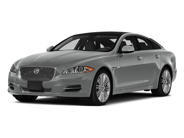 Rhodium Silver Metallic 2015 Jaguar XJ Pictures XJ Sedan 4D V6 photos front view