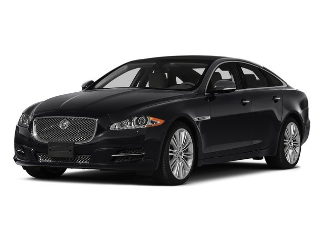 Ebony 2015 Jaguar XJ Pictures XJ Sedan 4D V6 photos front view