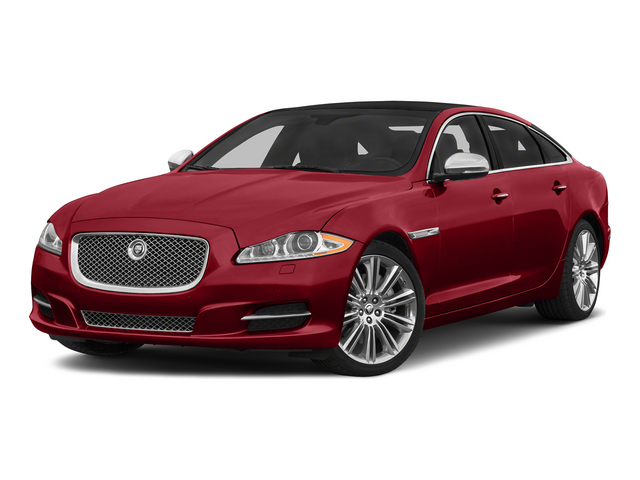 Italian Racing Red 2015 Jaguar XJ Pictures XJ Sedan 4D L Supercharged Speed V8 photos front view