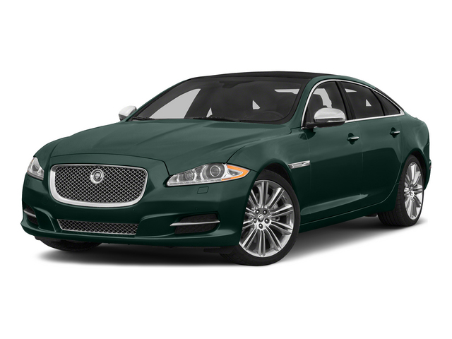 British Racing Green 2015 Jaguar XJ Pictures XJ Sedan 4D L Supercharged Speed V8 photos front view