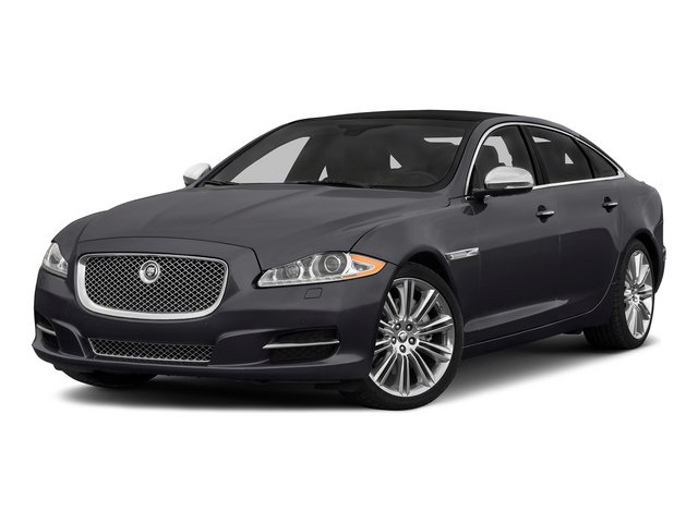 Stratus Gray Metallic 2015 Jaguar XJ Pictures XJ Sedan 4D L Supercharged Speed V8 photos front view