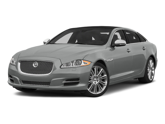 Rhodium Silver Metallic 2015 Jaguar XJ Pictures XJ Sedan 4D L Supercharged Speed V8 photos front view