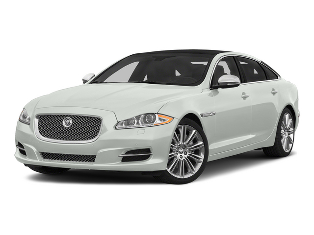 Polaris White 2015 Jaguar XJ Pictures XJ Sedan 4D L Supercharged Speed V8 photos front view