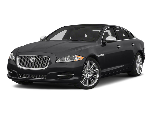 Ebony 2015 Jaguar XJ Pictures XJ Sedan 4D L Supercharged Speed V8 photos front view