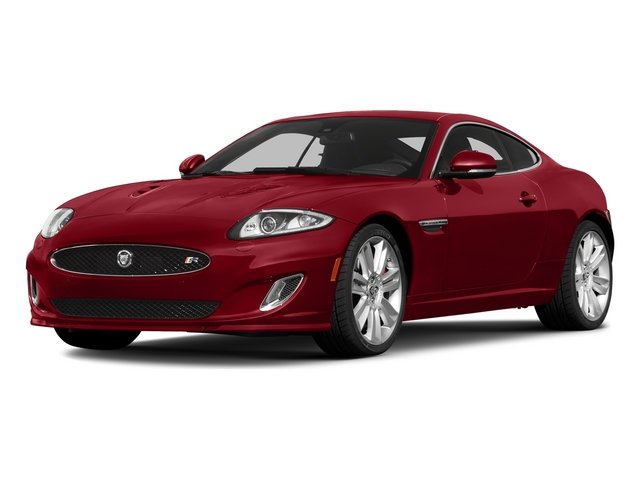 Italian Racing Red 2015 Jaguar XK Pictures XK Coupe 2D XKR V8 Supercharged photos front view
